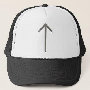 da2b7bb3a23b49 Elder Futhark Rune Tyr Trucker Hat
