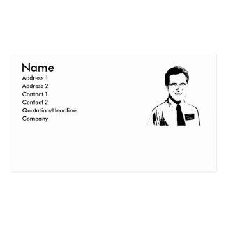 Elder Mitt Romney Pack Of Standard Business Cards