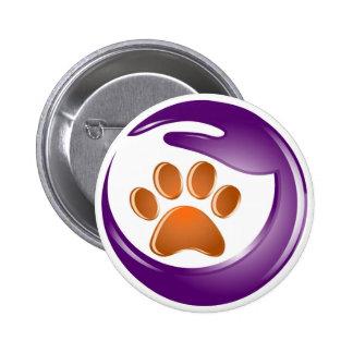 Elder Paws 6 Cm Round Badge