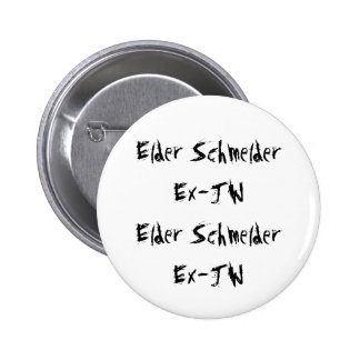 Elder SchmelderEx-JWElder SchmelderEx-JW 6 Cm Round Badge