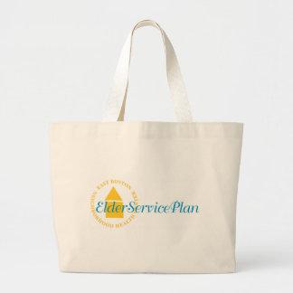 Elder Service Plan Tote Bags