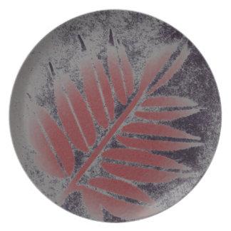 Elderberry Leaf Plate