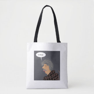 Elderly hand drawn tote
