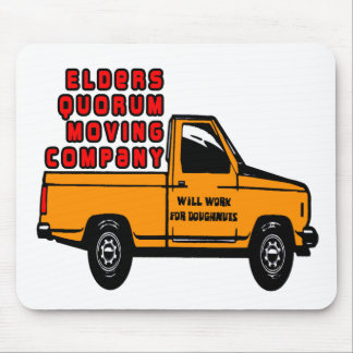 Elders Quorum Moving Company Mouse Pad