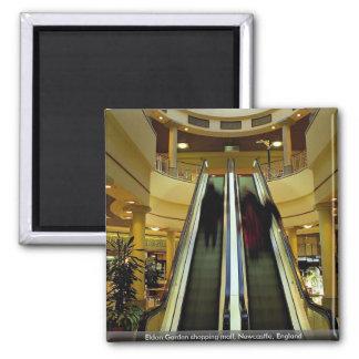 Eldon Garden shopping mall, Newcastle, England Magnet