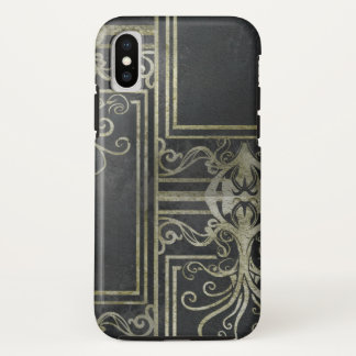 Eldrich Phone Case (Black & Gold) Tileing