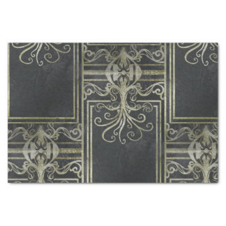 Eldrich Tissue Paper (Black and Gold)