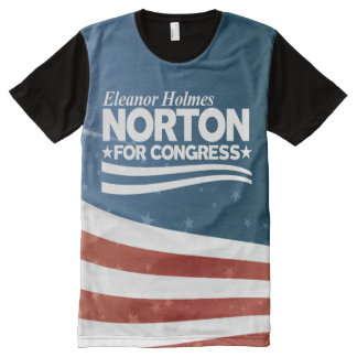 Eleanor Holmes Norton All-Over Print T-Shirt