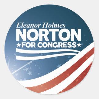 Eleanor Holmes Norton Classic Round Sticker