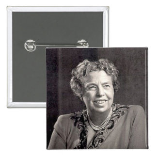 eleanor_roosevelt 15 cm square badge