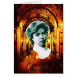 Eleanor Roosevelt Art Greeting Card