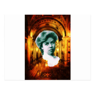 Eleanor Roosevelt Art Postcard