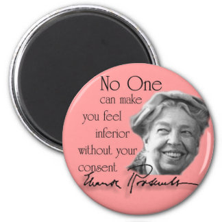 Eleanor Roosevelt - First Lady of the World Refrigerator Magnet