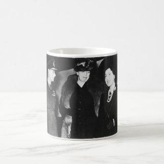 Eleanor Roosevelt King George VI Queen Elizabeth Basic White Mug