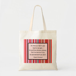 Eleanor Roosevelt Quote Bag