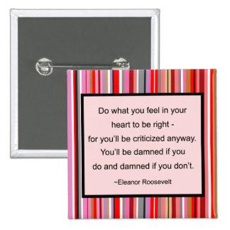 Eleanor Roosevelt Quote Button
