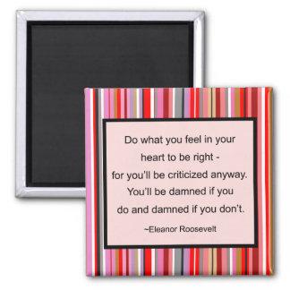 Eleanor Roosevelt Quote Magnet