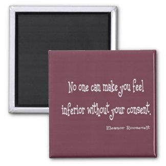 Eleanor Roosevelt Quote Refrigerator Magnet