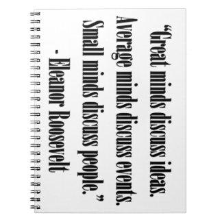 Eleanor Roosevelt Quote Journals