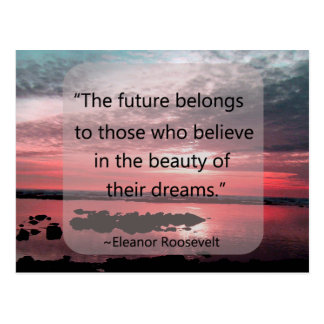 Eleanor Roosevelt Quote Postcard