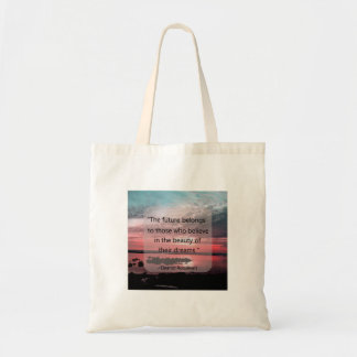 Eleanor Roosevelt Quote Budget Tote Bag