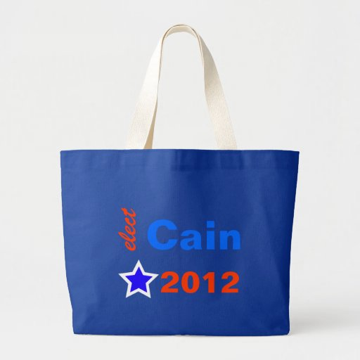 Elect Cain 2012 Tote Bags