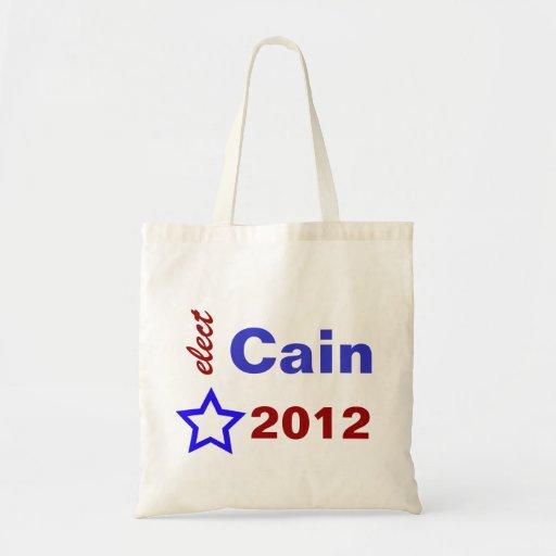 Elect Cain 2012 Tote Bag