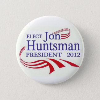 Elect Jon Huntsman 2012 6 Cm Round Badge