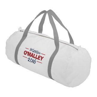 Elect Martin O'Malley 2016 Campaign Sign Cursive Gym Duffel Bag