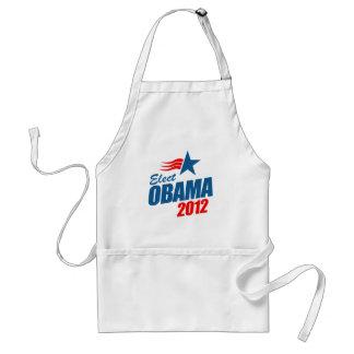 Elect Obama 2012 T-shirt Adult Apron