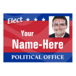 ELECT - Political Campaign Pack Of Chubby Business Cards