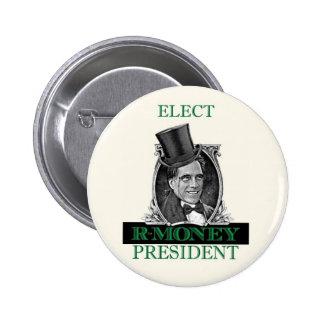 Elect ROMNEY President 6 Cm Round Badge