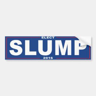 Elect Slump 2016 - Bumper Sticker