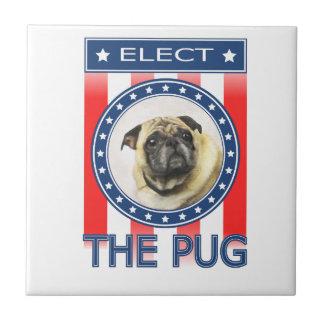 Elect The Pug Tile