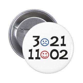 Election 2010 - November 2nd - Referendum on Obama Buttons