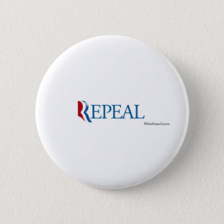 "Election 2012 ""Repeal"" Gear 6 Cm Round Badge"