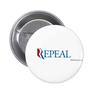 Election 2012 Repeal Gear Buttons