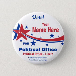Election Campaign Button - Non-Partisan