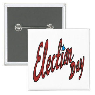 Election Day Pinback Buttons