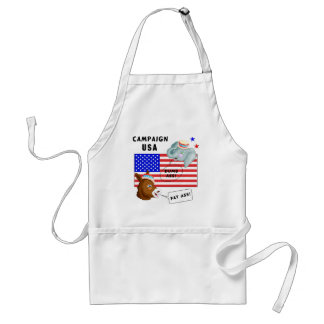 Election Day Campaign USA Adult Apron