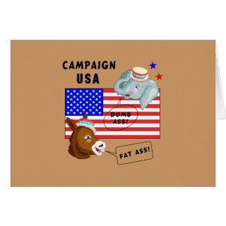 Election Day Campaign USA Greeting Cards