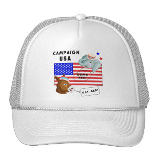 Election Day Campaign USA Mesh Hats