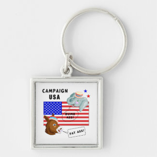Election Day Campaign USA Key Chains