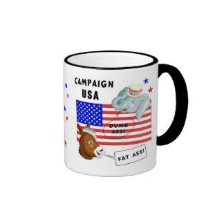Election Day Campaign USA Mugs