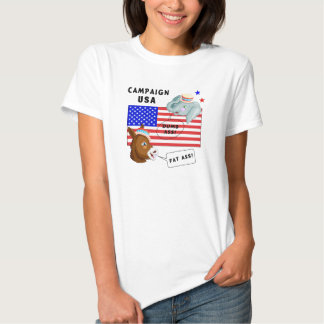Election Day Campaign USA Tee Shirt