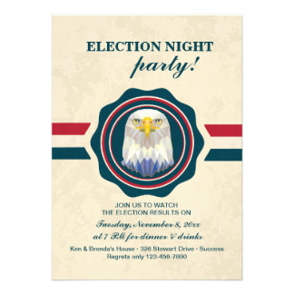 Election Day Eagle Invitation