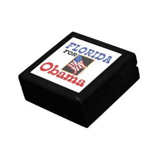 Election Florida for Obama Jewelry Box