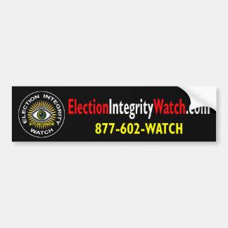 Election Integrity Watch Bumper Sticker