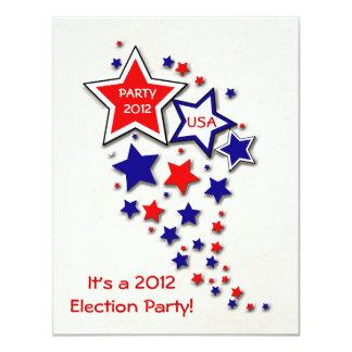 "Election Party Invitation 4.25"" X 5.5"" Invitation Card"