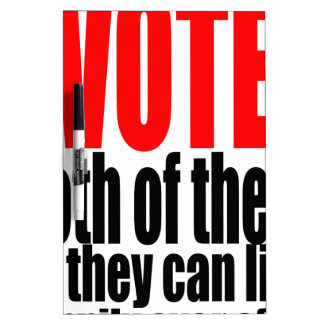 election vote hillary trump marriage president 201 Dry-Erase boards